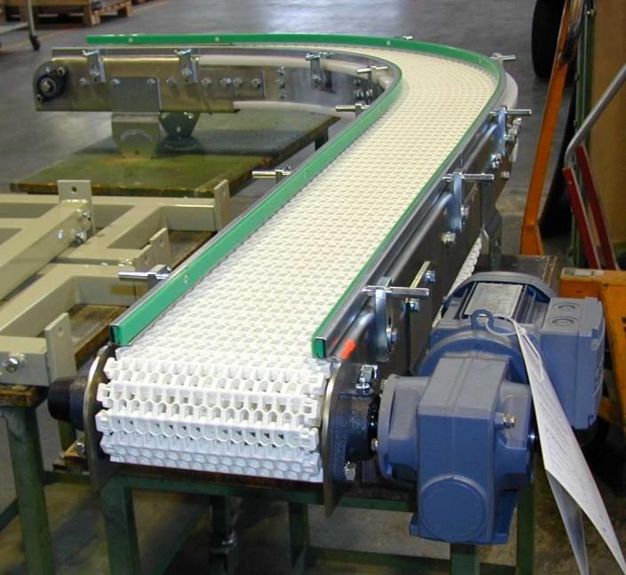 Kunststoffgliederkettenförderband