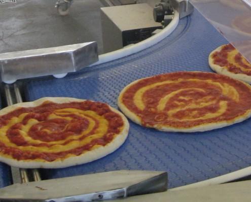 Modulförderband Pizza
