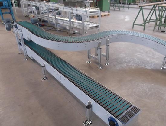Scharnierkettenförderer Kunststoff 2