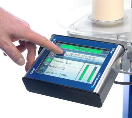 Videojet Etikettendrucksystem 9550