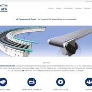 sfb Fördertechnik_Webpage